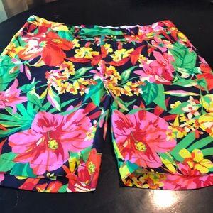 Ex Condition Men's 38 Ralph Lauren Flowered Short